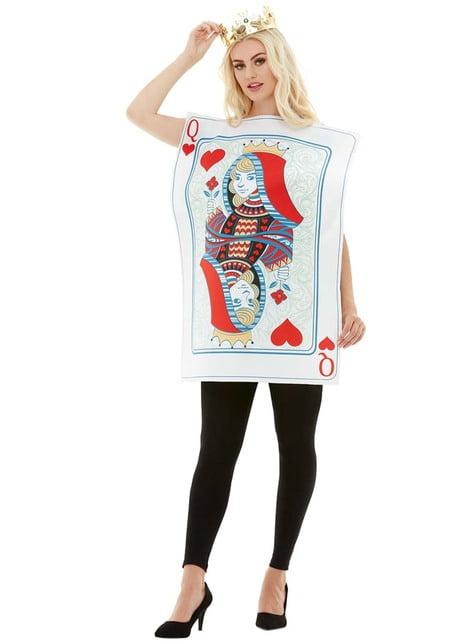 Queen of hearts kostuum