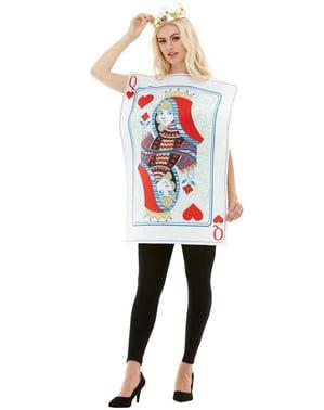 Herzdame Karten Kostüm