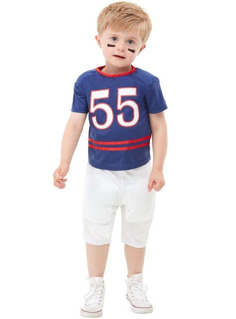 Disfraz de jugador de rugby para niño