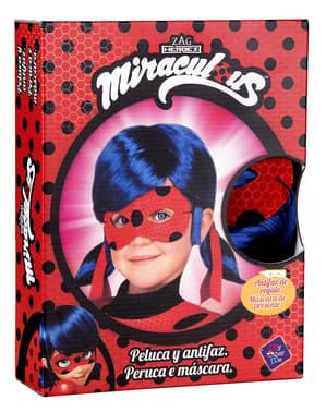 Ladybug pruik voor meisjes - Miraculous: Tales of Ladybug & Cat Noir