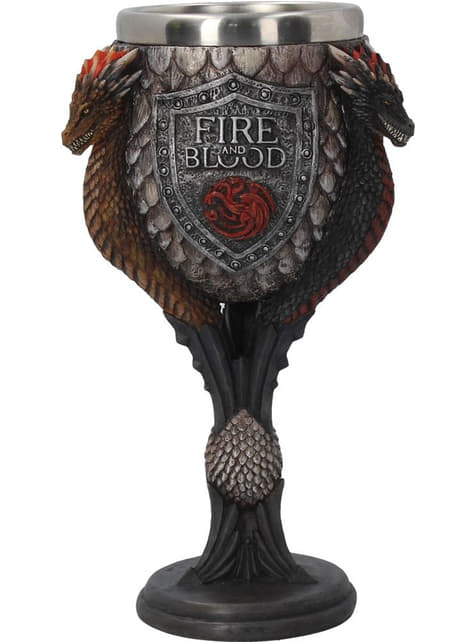 Verre à pied Targaryen deluxe - Game of Thrones