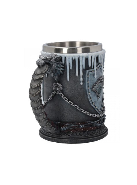 Deluxe Game of Thrones Winter Is Coming bierglas