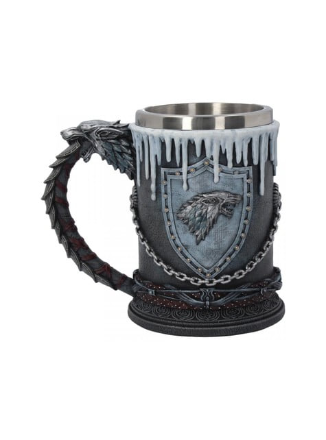 Deluxe Game of Thrones Winter Is Coming Stein
