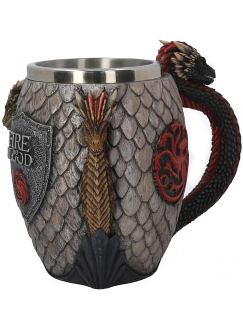 Caneca Game of Thrones Fire and Blood deluxe