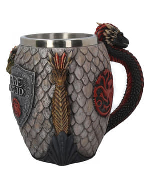Korkeanluokan Game of Thrones Fire and Blood -Tuoppi