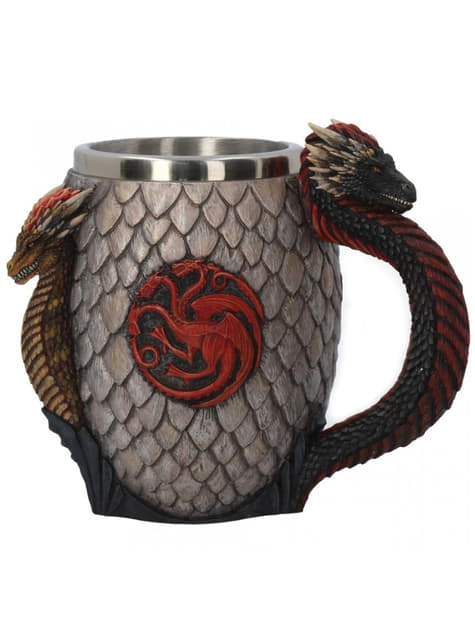Deluxe Game of Thrones Fire and Blood bierglas