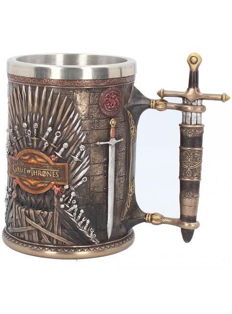 Caneca Trono de Ferro deluxe - Game of Thrones