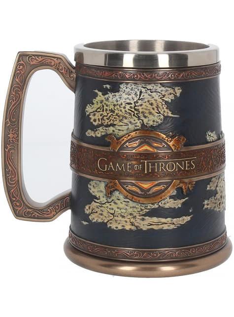 Caneca Game of Thrones Sete Reinos deluxe