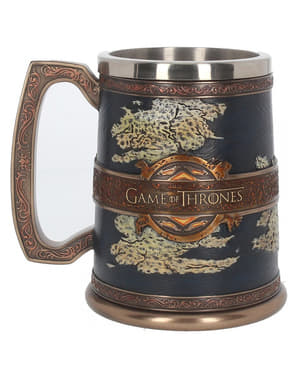 Deluxe Game of Thrones Seven Kingdoms krus