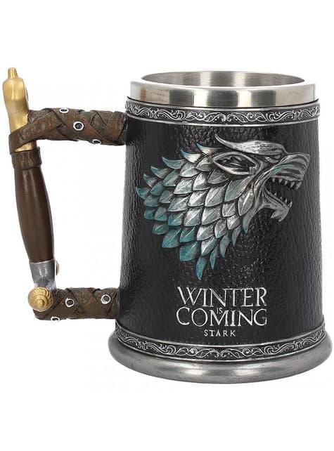 Deluxe House Stark bierglas - Game of Thrones