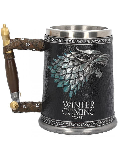 Jarra Juego de Tronos Stark Winter is Coming