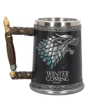 Valtaistuinpeli Stark Winter is Coming kannu