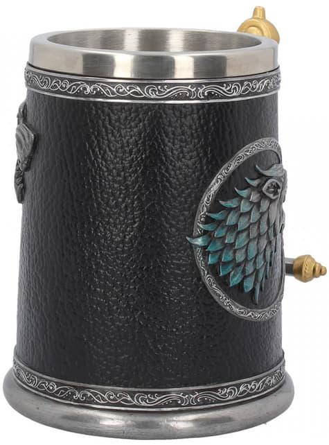 Game of Thrones Stark Winter is Coming jug