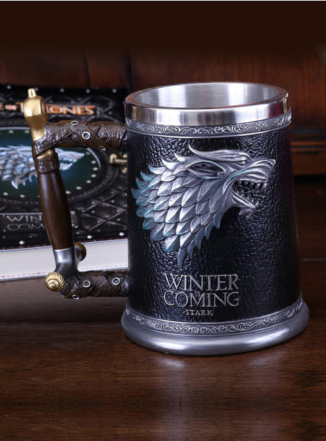 Caneca Game of Thrones Stark Winter is Coming