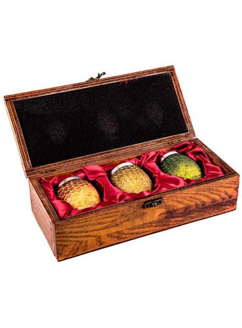 Conjunto de copos Ovos de Dragão deluxe - Game of Thrones
