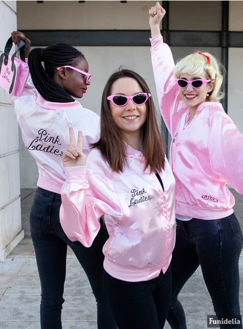Pink Lady jakke fra Grease