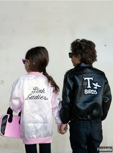 Grease Pink Ladies Jakke til piger