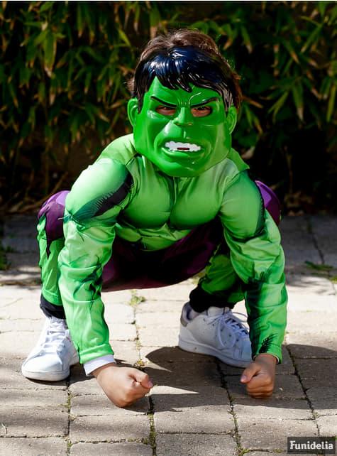 Disfraz de Hulk Vengadores Unidos para niño