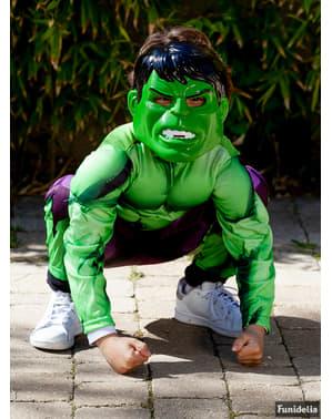 Zostavte chlapčenský kostým Hulk Avengers