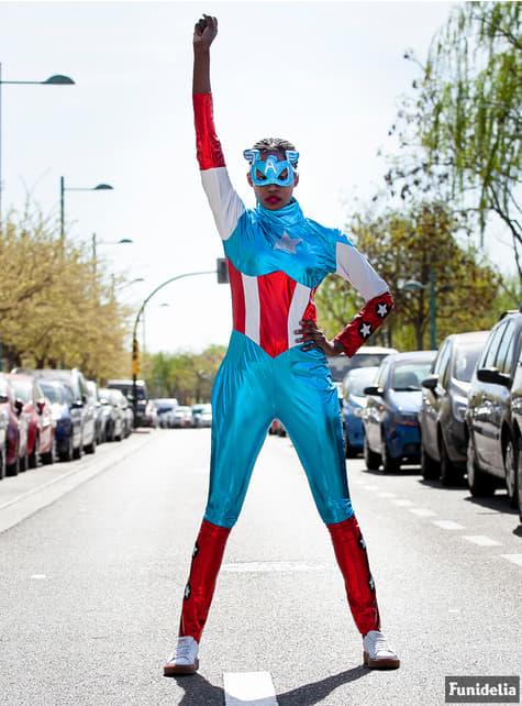 Disfraz de Capitán América Marvel para mujer - mujer