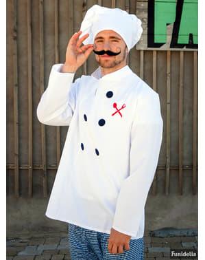 Fato de chefe de cozinha profissional para homem