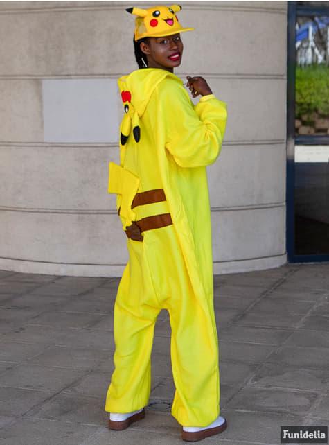 Disfraz de Pikachu onesie para hombre - original