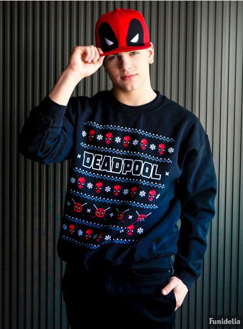 Jersey de Deadpool Christmas Crew de punto - original