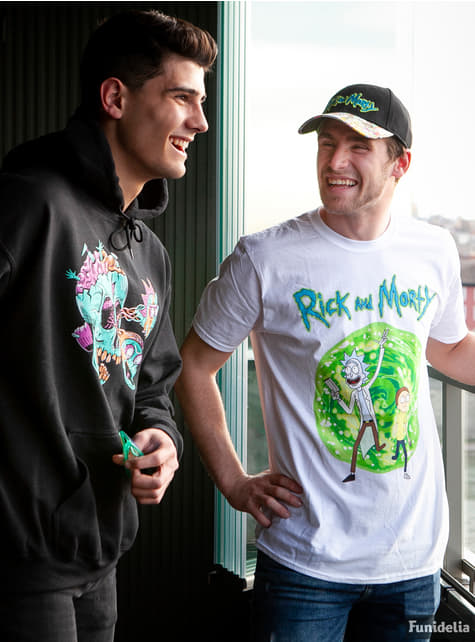 T-shirt Rick et Morty Portail