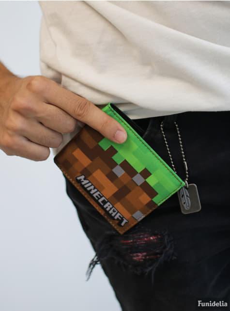 Cartera de Minecraft Dirt