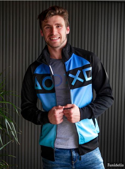 Blue PlayStation jacket for men