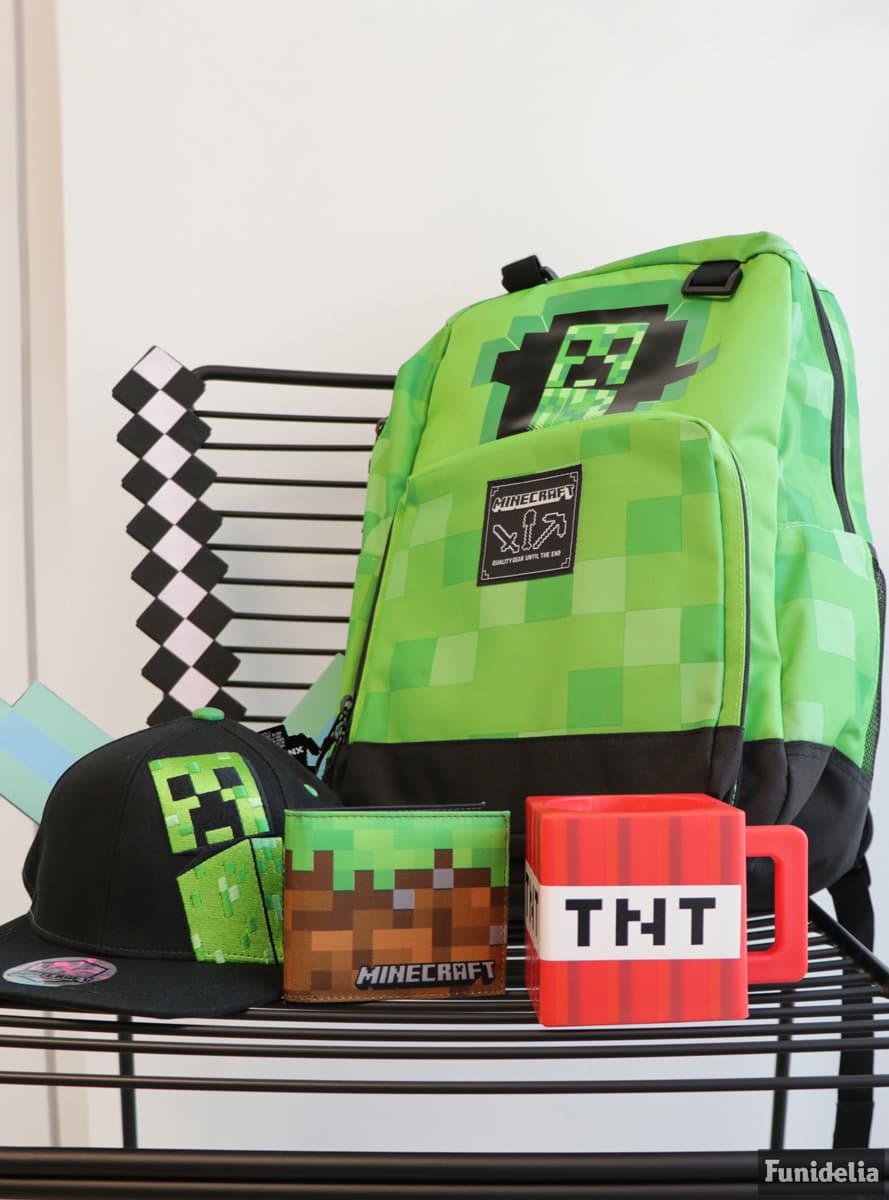 Gorra de Minecraft Creepin  comprar online en Funidelia. ea7e40b2e7d