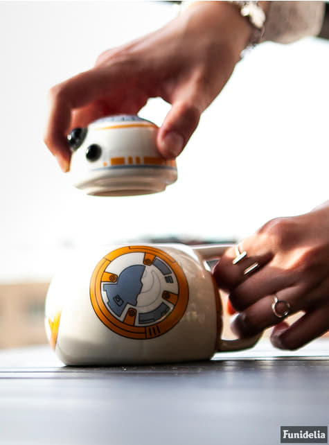 Caneca de BB-8 3D
