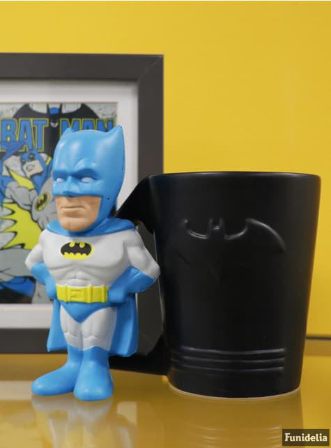 Figura antiestrés de Batman 14 cm - oficial