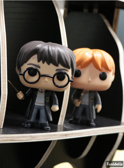 Funko POP! Harry Potter con varita - oficial