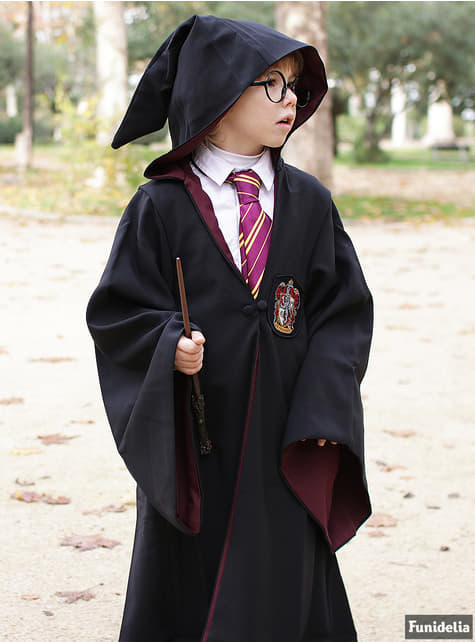 Túnica de Harry Potter Gryffindor Deluxe para niño (Réplica oficial Collectors)  - infantil