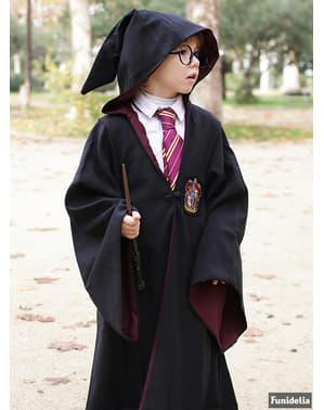 Túnica de Harry Potter Gryffindor Deluxe para menino (Réplica oficial Collectors)