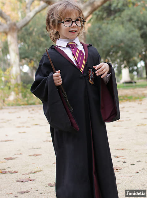 Túnica de Harry Potter Gryffindor Deluxe para niño (Réplica oficial Collectors)  - original