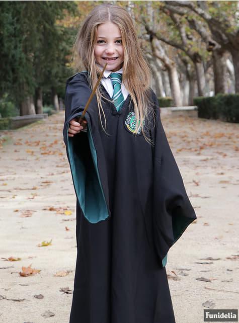 Túnica de Slytherin Deluxe para niño (Réplica oficial Collectors) - Harry Potter - infantil