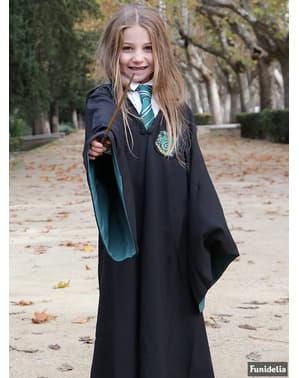 Robe Harry Potter Slytherin Deluxe barn (officiell replika Collectors)