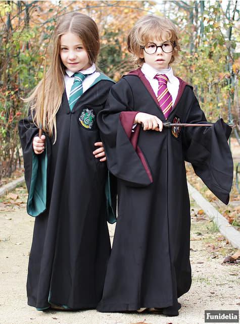 Túnica de Slytherin Deluxe para niño (Réplica oficial Collectors) - Harry Potter - para regalar en cualquier ocasión