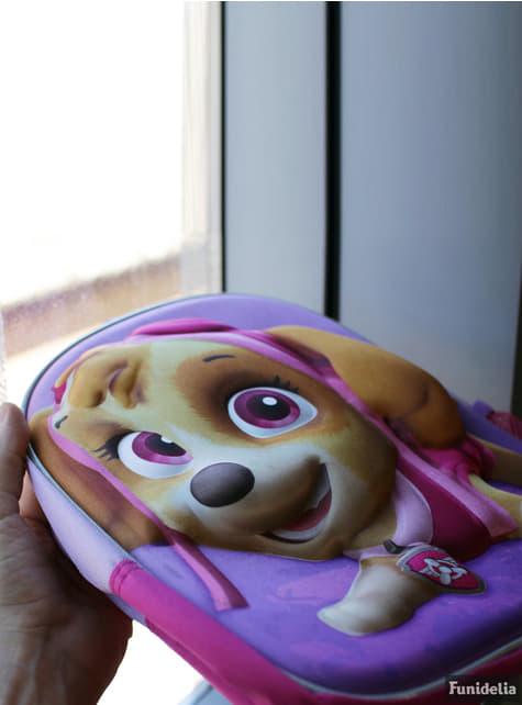 Sac à dos à roulettes enfant 3D Stella violet - Paw Patrol : La Pat' Patrouille