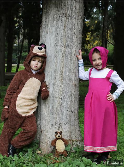 Fato de Masha - Masha e o Urso