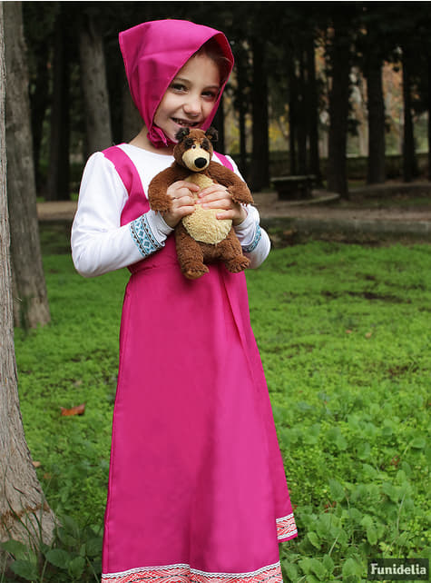 Disfraz de Masha - Masha y el Oso