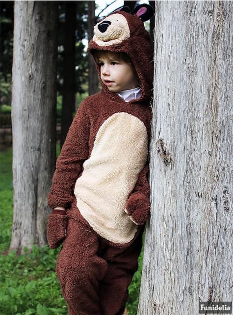 Fato de Urso infantil - Masha e o Urso
