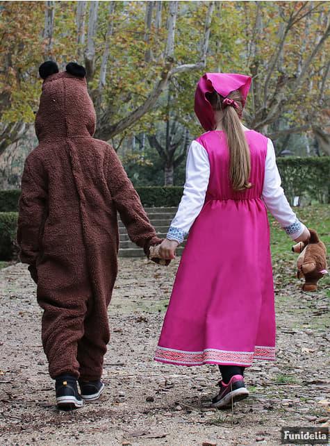 Déguisement de l'Ours enfant - Masha et Michka