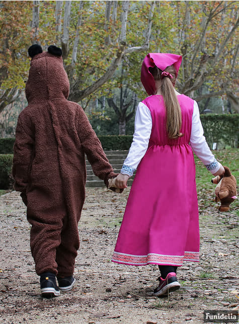 Disfraz de Oso infantil - Masha y el Oso - traje