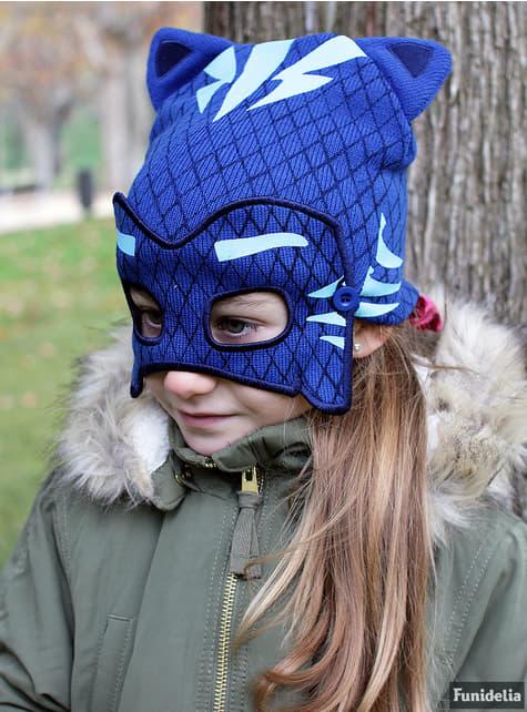 Gorro de Catboy com mascarilha infantil - PJ Masks