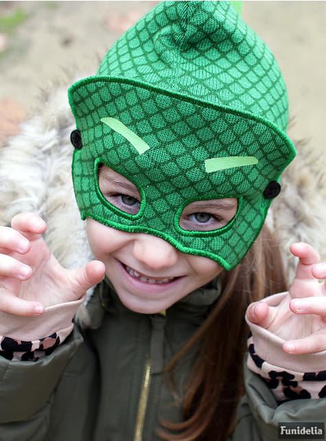 Gorro de Gekko con antifaz infantil - PJ Masks - oficial