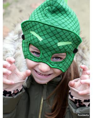 बच्चों के लिए आई मास्क के साथ गक्को बीनि हैट - पीजे मास्क