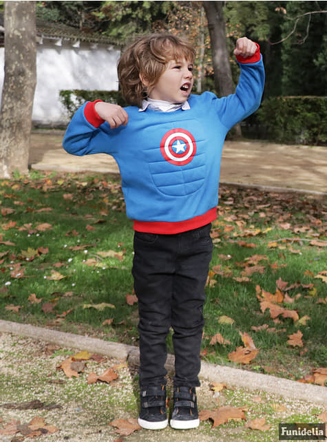 Sudadera de Capitán América infantil - Los Vengadores - original